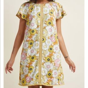 ModCloth Whimsical Wildflowers Dress 3x